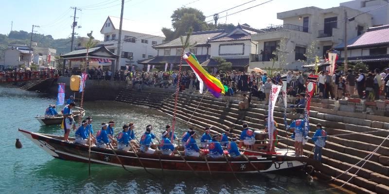 朝鮮通信使再現行列 下蒲刈島は古くから瀬戸内航路の要衝として栄え、江戸... 朝鮮通信使再現行列